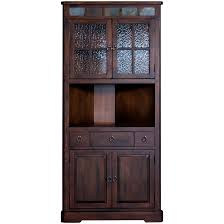 Sunny Designs Santa Fe Dark Brown Corner China Cabinet - Free Shipping  Today - Overstock.com - 17200328