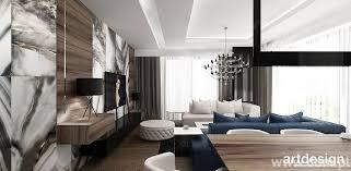 cool nowoczesny salon w stylu glamour with styl modern glamour