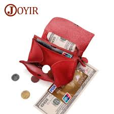 <b>JOYIR Genuine Leather Men</b> Coin Wallet Slim Women Leather ...