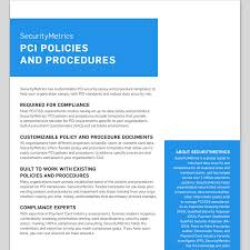 policy templates data security policy templates pci policy compliance