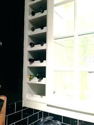 wall wine racks glass storage cabinet best kitchen ideas ikea rack and bar