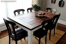 build an easy diy farm table free tutorial with pictures on how to make a