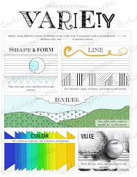Unity And Variety Principles Of Design Variety Principles Of Design Printable Worksheet For Art