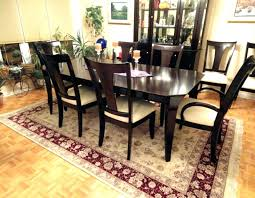 under table rug dining room table rug com intended for what size under plans pool table