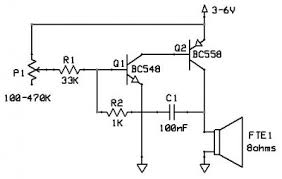 speaker circuit diagram ireleast info fun and easy to build buzzer circuit at embedded dreams wiring circuit