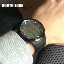 aliexpress com buy northedge digital watches men watch outdoor aliexpress com buy northedge digital watches men watch outdoor fishing electronic altimeter barometer thermometer altitude climbing hiking hours from