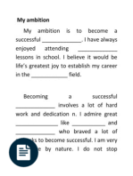 my ambition in life teacher literacy science my ambition sample essay