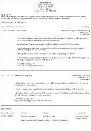 Examples Of Engineering Resumes Stunning Resume Examples Engineering Objective Sentences For Resumes Resume