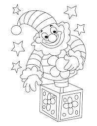 Circus clown coloring page | Download Free Circus clown coloring ...