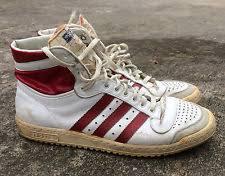 adidas vintage. rare vintage made in france adidas top ten shoes 1970\u0027s originals high 9.5 a