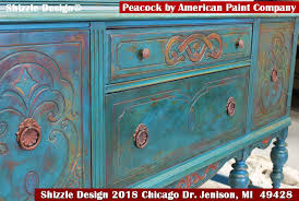 antique painted furnitureShizzle Design  Give the Gift of Creativity with Shizzle Design