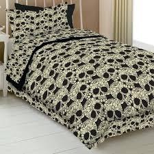 skull and bones bedding set flower skull comforter skull and crossbones bed sheets