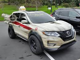 Custom Rogue One Themed 2017 Nissan Rogue Vehicle At Lucasfilm ...