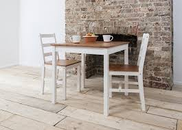 Dining Table With 2 Chairs Table And Chairs Set Wooden Table And Chair Set White 1 Set