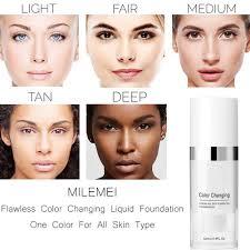 Flawless Colour Changing Warm Skin <b>Foundation Makeup</b> Base ...