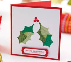 Iris Folding Christmas Bauble Holly Cards Free Craft
