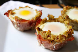 Cheesy Ham, Egg and Stuffing Breakfast Cups - TODAY.com