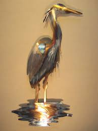 >for susan bradley only please 3 great blue heron stainless steel  for susan bradley only please 3 great blue by steelknightdesigns 187 50