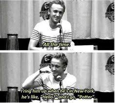 Tom felton is so funny! on Pinterest | Tom Felton, Toms and Draco via Relatably.com