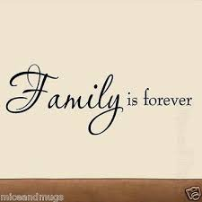family is forever vinyl wall art decal quote home living room family decor words on vinyl wall art words stickers with family is forever vinyl wall art decal from vwaq epic wishlist