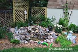 diy small garden pond with simple