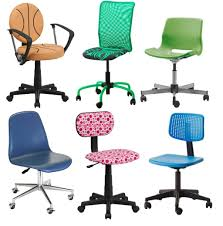 office chair for kids. Kids Rolling Chair With Basket Design And Plastic Blue Desk Chairs Playroom Furniture Office For