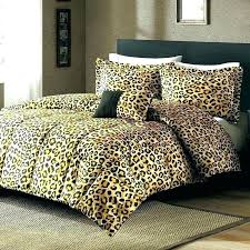leopard print bed set animal bedding sets fashion cheetah queen size with regard to comforter