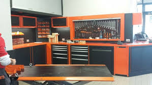 Harley Davidson Legnano LV8 QUBE Workshop Furniture Lv8