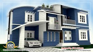storey house design   d floor plan   Sq  Feet   Indian     storey house elevation   Sq  M   Sq  Feet