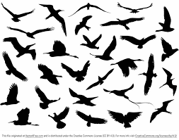 bird in flight silhouette vector. Simple Bird Download This Site Of 30 Free Vector Flying Birds Silhouettes For  Commercial Use On Bird In Flight Silhouette Vector B