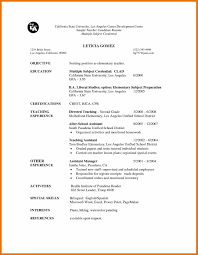 Extra Curricular Activities Examples For Resume Best Of Extra