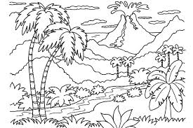 Coloring Pages For Nature Sleekadscom