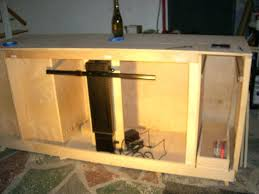 tv hideaway furniture. Tv Hiding Furniture How To Make A Lift Cabinet Steps With Pictures Hideaway 2