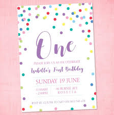 Polka Dot Invitations Polka Dot Fun Invitation