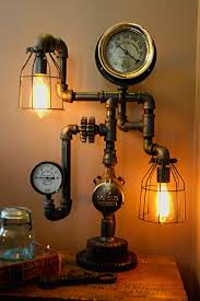 steampunk lighting. 15 Steampunk Bedroom Decorating Ideas For Your Home Lighting V