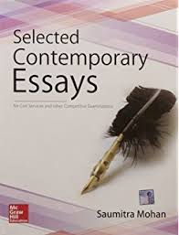 buy essay writing for competitive examinations book online at low  selected contemporary essays