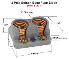 fuse holders block style click here for diagram dimensions