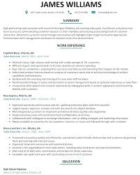 s associate resume sample com