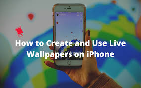 live wallpapers on iphone