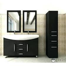 double vanity 48 inch modern double sink bathroom vanity dual top living double vanity san clemente