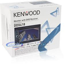 kenwood ddx418 6 1 dvd receiver w bluetooth a v ipod control product kenwood ddx418
