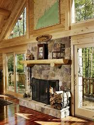senator 04329 katahdin cedar log homes cabin fireplacecedar