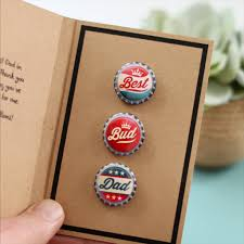 personalised gift badge card for dad