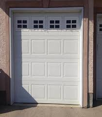 Delighful Single Garage Doors Windows O For Innovation Ideas