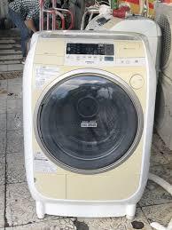Máy giặt HITACHI BD V2100 giặt 9kg sấy 6kg màu hột gà, nhìn ngọt ngào nè  giá 8.500.000đ - Toàn quốc