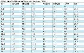 Dolce Gabbana Size Chart Admin Author At Best Mens Footwear
