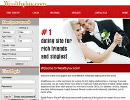 dating sites with wealthy men