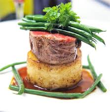 fine dining summer menu ideas. fine dining plate presentation | beef with potato and madeira sauce green. white disheswhite summer menu ideas