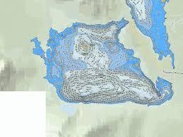 Upper Kananaskis Lake Fishing Map