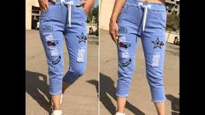 New Jeans Design For Girl 2019 Stylish Design Mein Jeans With Girls 2019 Ki Latest